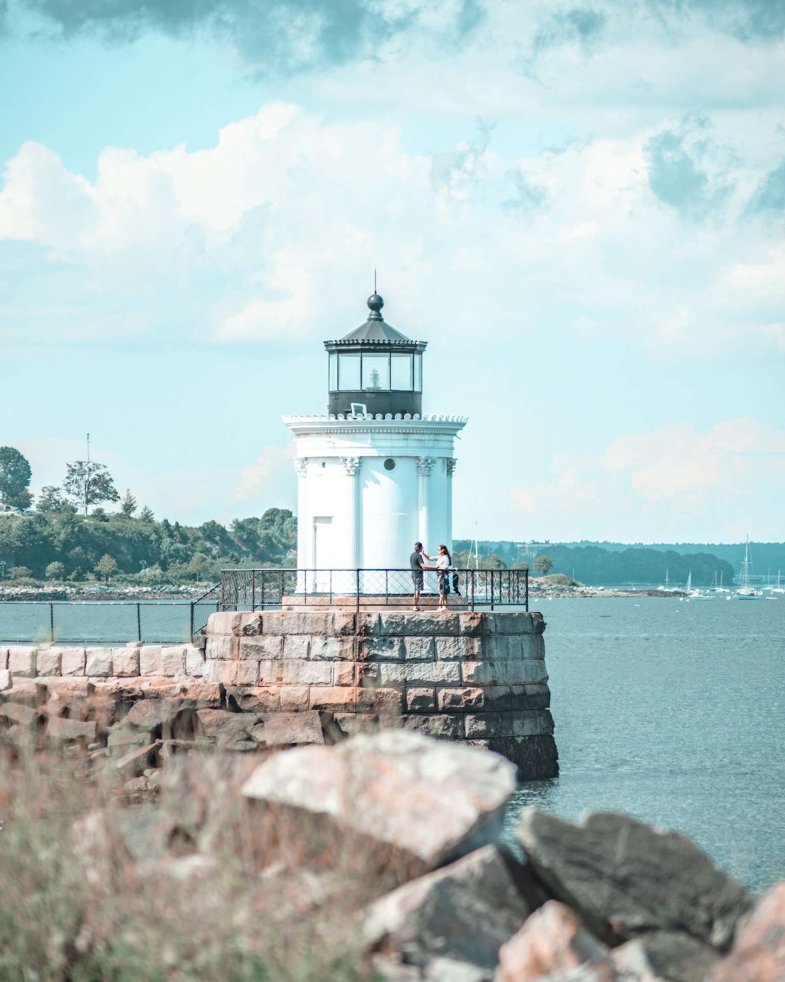 Bug Light in Portland, Maine