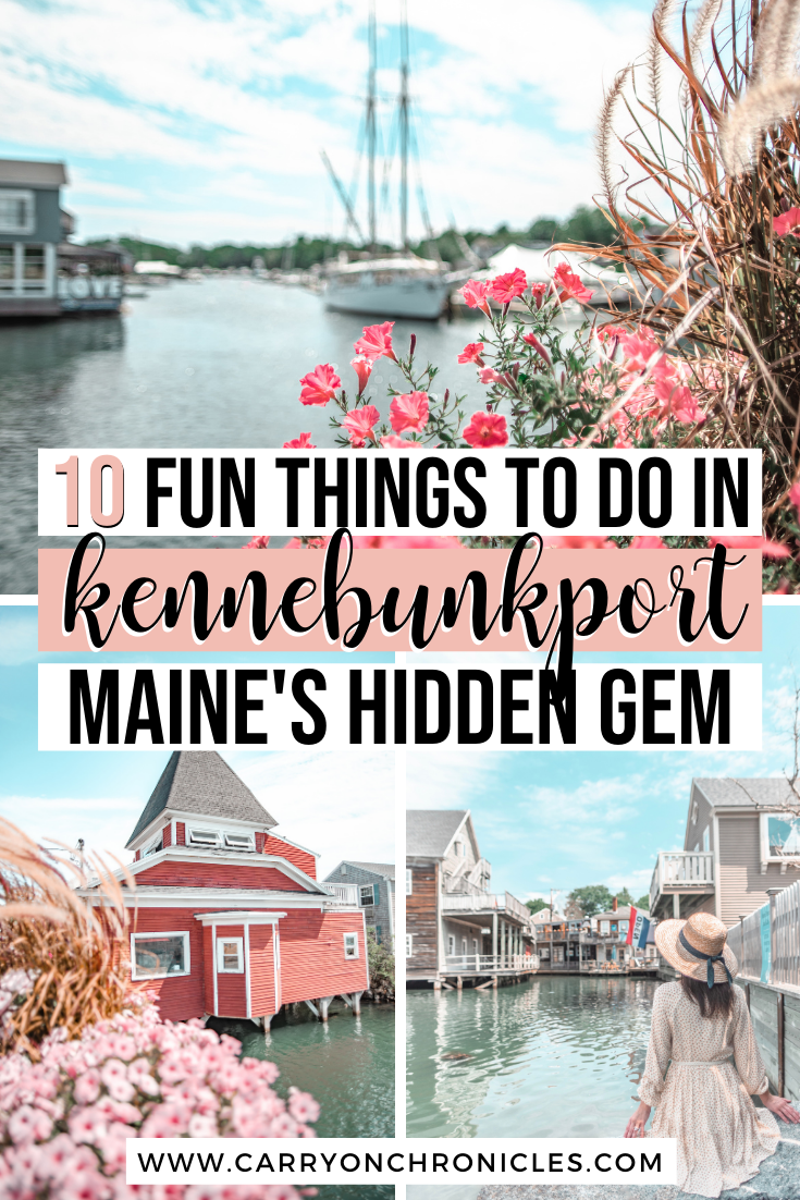 fun things to do in Kennebunkport
