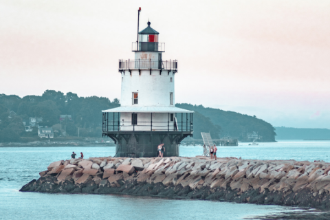 lighthouses in portland