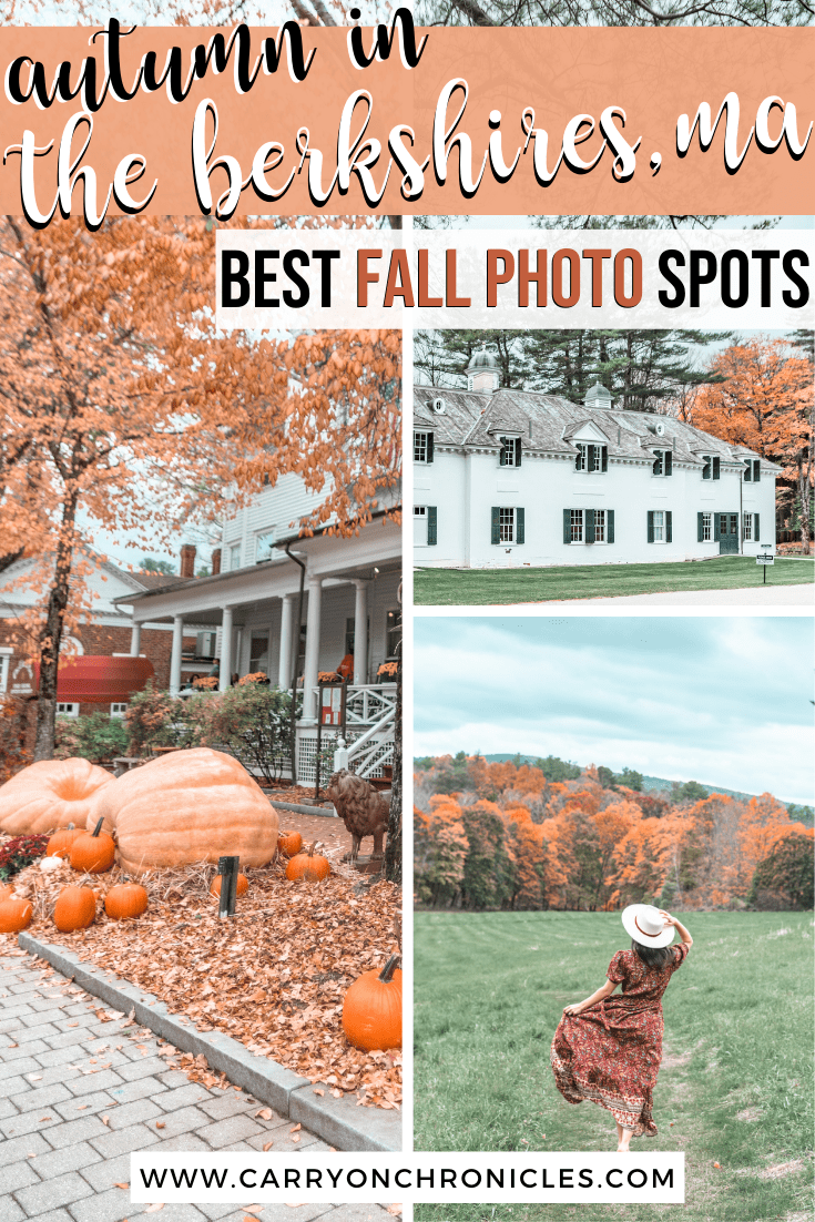 Most Breathtaking Places to Experience Fall in the Berkshires