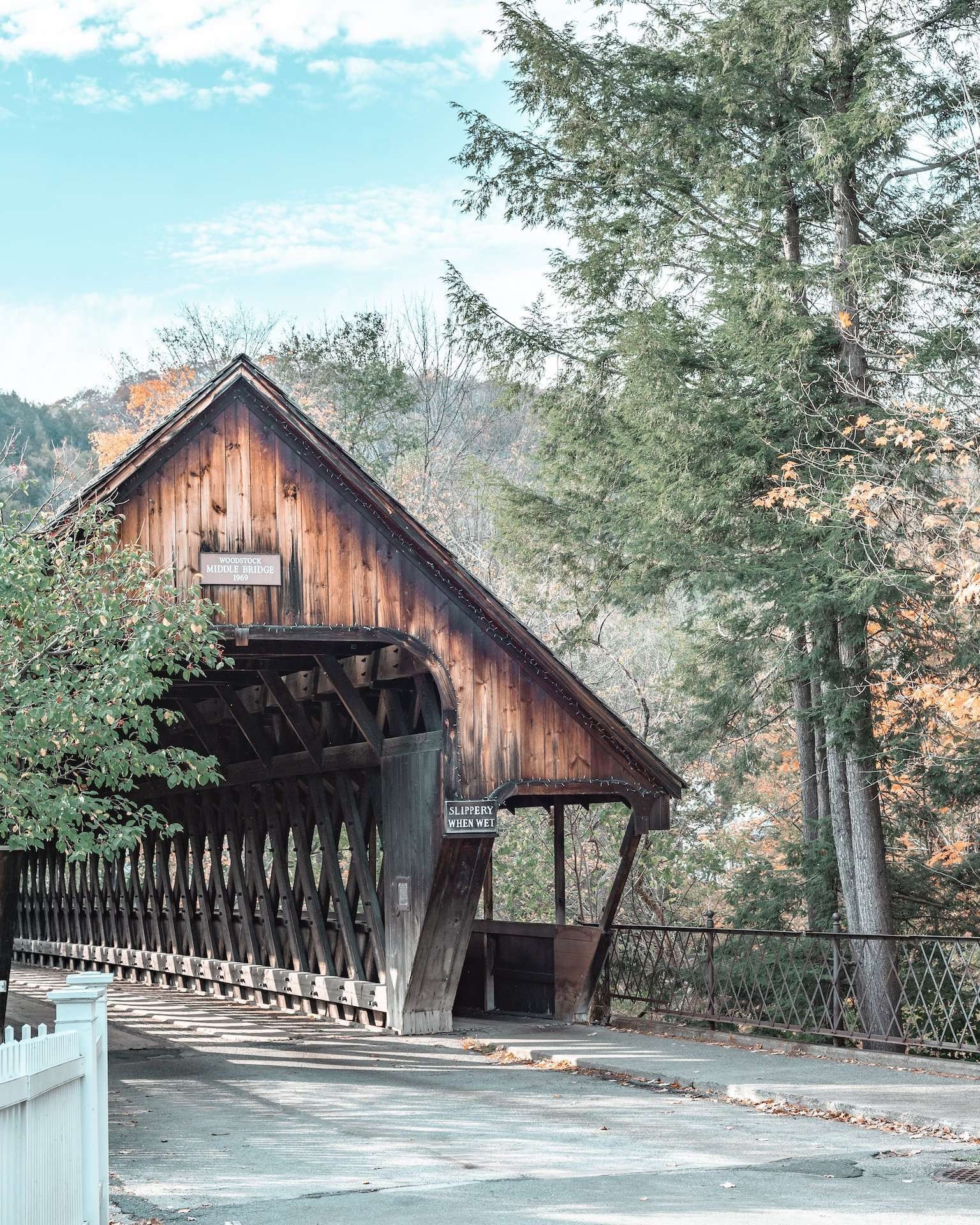 Middle Covered Bridge, Woodstock