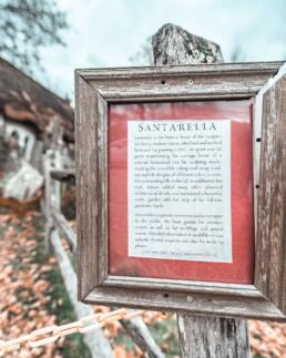 Santarella sign