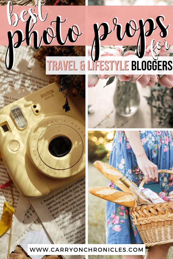 best photoshoot props for bloggers