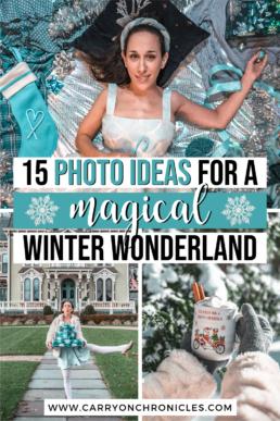 magical winter wonderland photoshoot