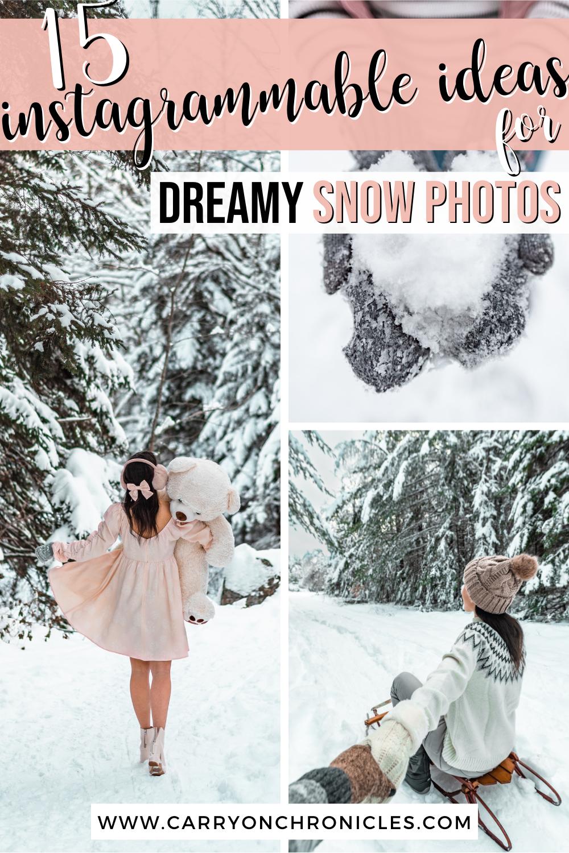 winter photography ideas