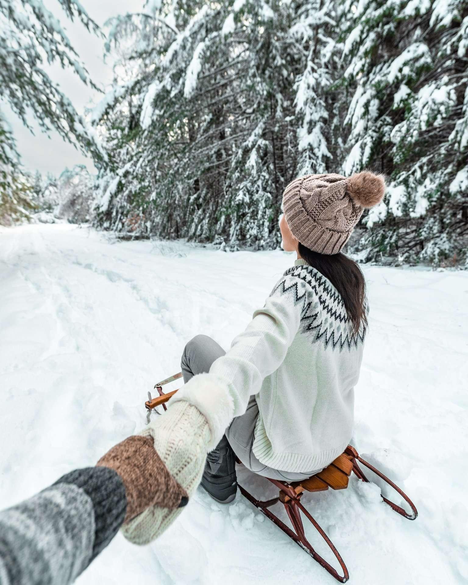 sledding in New Hampshire