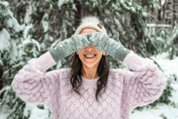 snow photoshoot
