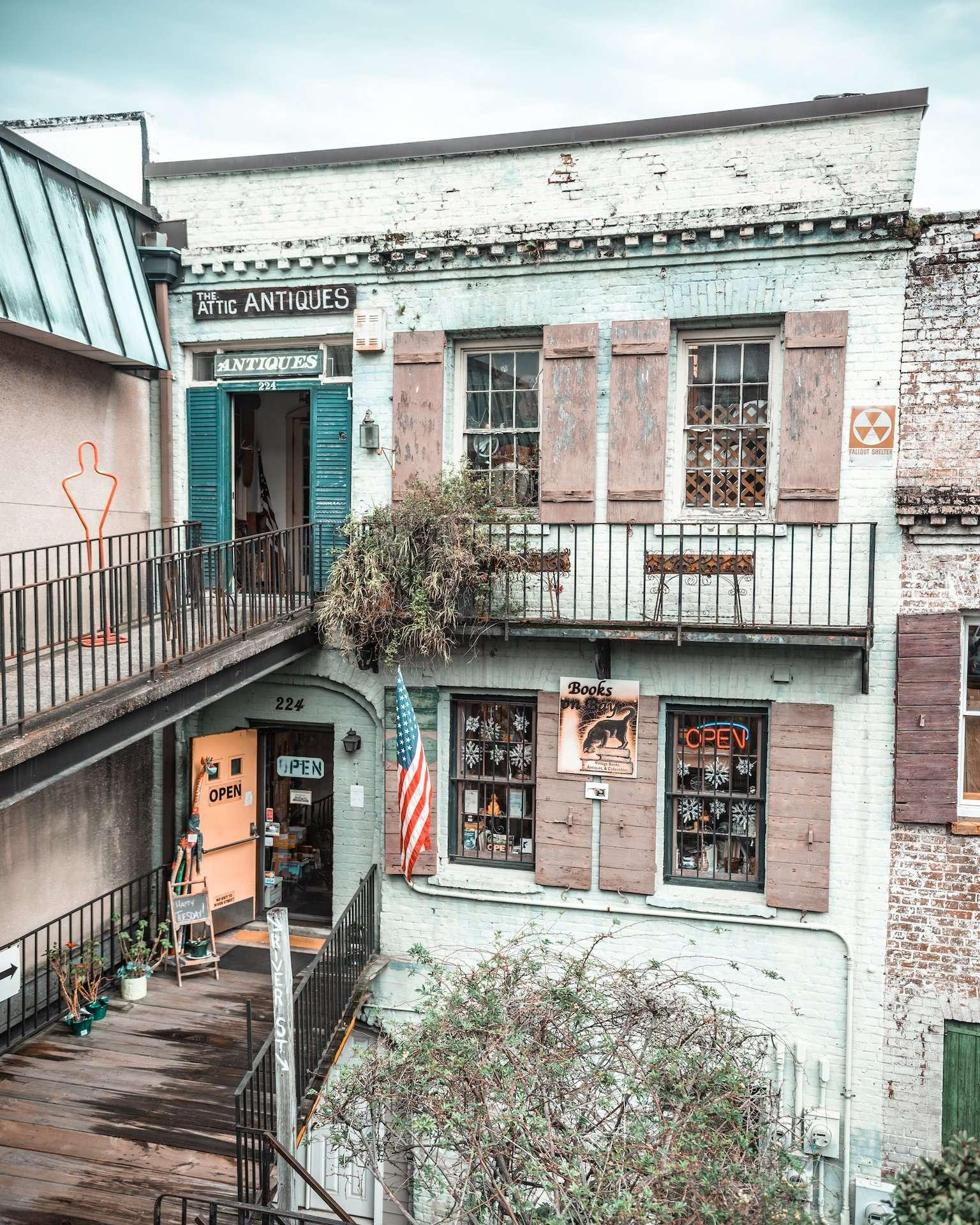Attic Antiques, Savannah