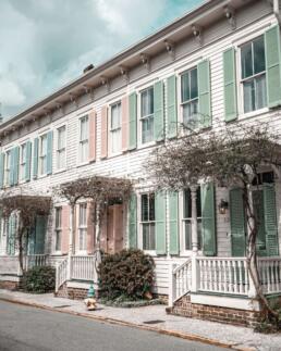 Rainbow Row, Savannah