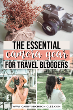travel blog camera