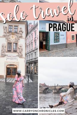 solo travel in Prague